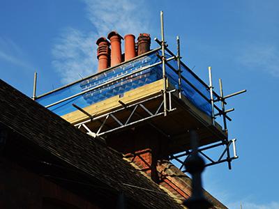 chimney-scaffolding